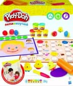 "Игровой набор Hasbro Play Doh ""Буквы и языки"""